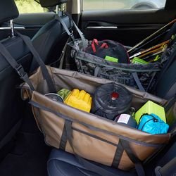 자동차 뒷좌석 정리함 - 트렁크 정리 차박 캠핑용품 정리