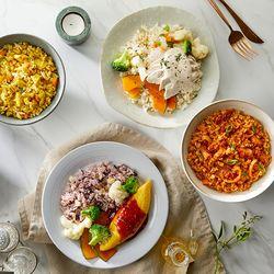 [무료배송] 콜리컵밥&든든포켓도시락 8종10팩 (5일 식단)