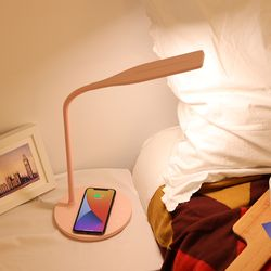 LED 패럭스 학생용 스탠드 핑크민트