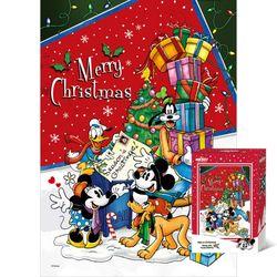 500피스 퍼즐 미키 메리크리스마스 TPD05-033