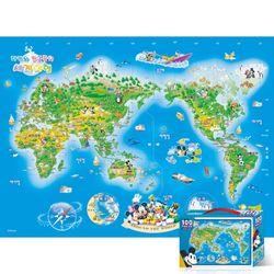 100피스 퍼즐 미키의 세계여행 TPD100-014