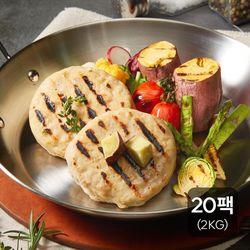고구마 닭가슴살스테이크 2kg (100g 20팩)