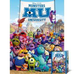 800피스 퍼즐 몬스터 대학교 포스터 TPD08-028D
