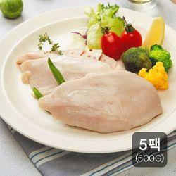 신선하닭 소프트 닭가슴살 500g (100g 5팩)