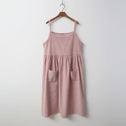 Corduroy Cami Long Dress