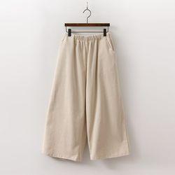 N Wang Corduroy Wide Pants