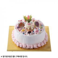 [메이드케익]DIY 케이크 만들기 (1호초코데코)=레드벨벳=