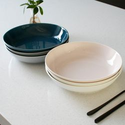 (국산)쏠레이 멀티볼 대 - 6color   (샐러드파스타요리접시)