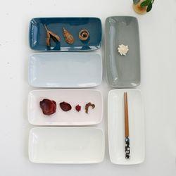 (국산)쏠레이 생선접시 소 - 6color