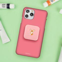 미니동물 캔디 미러 스마트톡+컬러핏 슬림 하드 케이스