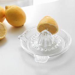 파사바체 유리 레몬스퀴저 과일즙 착즙기 레몬즙짜개