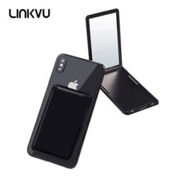 Linkvu 오픈업 백스틱 부착식 손거울 카드수납 포켓