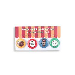 Dumb Bear Edition Pin-Button Set