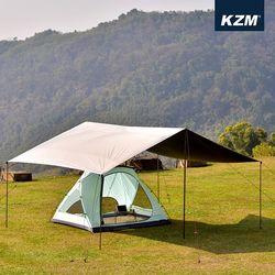 [카즈미] 블랙 렉타 타프 (L)캠핑 그늘막 K9T3T009