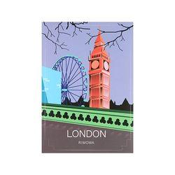 LONDON LANDMARK 런던 50900030 리모와 정품 스티커