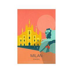 MILAN LANDMARK 밀라노 50900060 리모와 정품 스티커