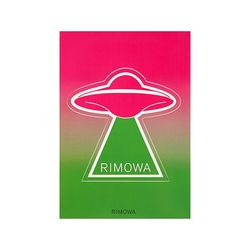 UFO 유에프오 50900120 리모와 정품 스티커