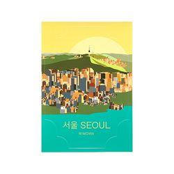 SEOUL LANDMARK 서울 50900340 리모와 정품 스티커