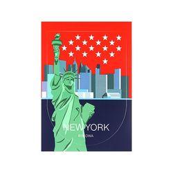 NEW YORK LANDMARK 뉴욕 50900360 리모와 정품 스티커