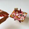 미니어처 음식 치킨 세트 만들기 DIY 풀키트 미니셰프 컬렉션