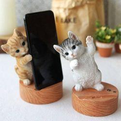 고양이 휴대폰 거치대 (2type)