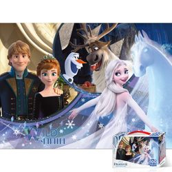 100피스 퍼즐 겨울왕국2 소중한기억 TPD100-016