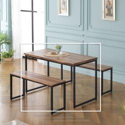 모르비노 식탁 테이블 1400