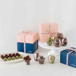 [특가/무료배송] 이지 바베 생 초콜릿 DIY 만들기 세트 발렌타인데이