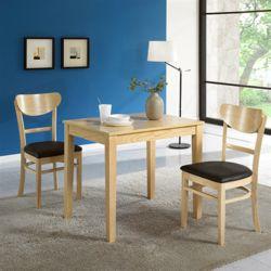 맨디 2인 식탁 세트 의자 2개 포함