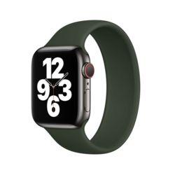 애플워치 솔로루프 실리콘 팔찌스트랩 42/44mm 그린M
