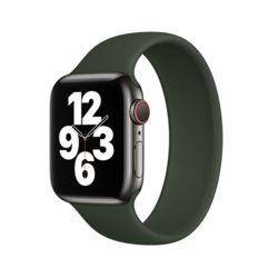 애플워치 솔로루프 실리콘 팔찌스트랩 42/44mm 그린L