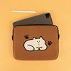 자수 포켓 노트북파우치 고양이 이해하기 (아이패드)