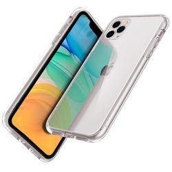 아이폰 12 프로 맥스 하드 젤리 유니온 투명 케이스