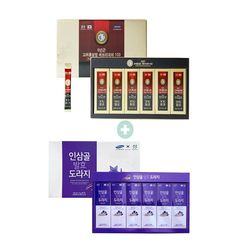 [무료배송] 에브리데이100 홍삼 선물 + 배도라지스틱 선물 2종구성 세트