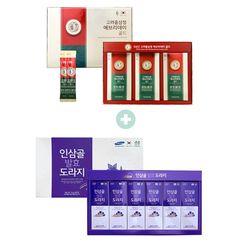 [무료배송] 에브리데이골드 홍삼 선물 + 배도라지스틱 선물 2종구성 세트
