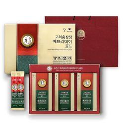 [무료배송] 고려홍삼정 에브리데이 골드 6년근 홍삼스틱 30포 선물포장