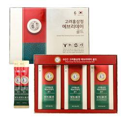 [1+1/무료배송] 고려홍삼정 에브리데이 골드 6년근 홍삼스틱 30포+30포 선물포장