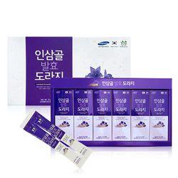 [1+1/무료배송] 인삼골 발효 배도라지 대용량 스틱 15g 60포+60포 선물포장