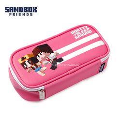샌드박스 프렌즈 파우치-핑크