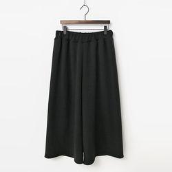 Minky Wide Pants - 융기모