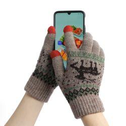 겨울사슴 스마트폰 터치장갑(믹스)