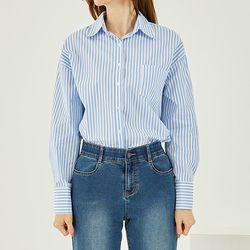 볼드 스트라이프 셔츠 DAYW21130
