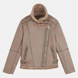 포근 라이더 퍼 재킷 TRJF20D68