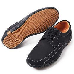MAN daily 스티치 casual shoes 굽3cm 2color