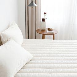 먼지없는 클린모달 소프트콜렉션 침대패드 러그 Q