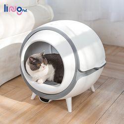 링펫 고양이 자동화장실 UV살균 고양이화장실