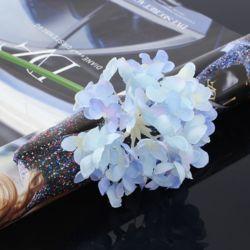 꽃보라 수국 조화(블루)