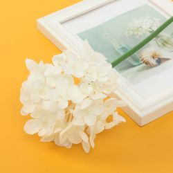 꽃보라 수국 조화(화이트)