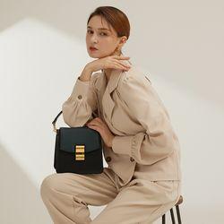 [Anny Bag] 애니백 플랩 1 Plus 1 Black