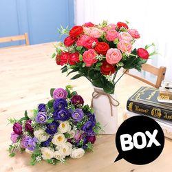 BOX판매 나난장미 12개 성묘 산소 꽃 납골당 조화